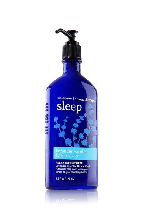 Bath Works Aromatherapy sleep lavender vanilla lotion aromatherapy bath works items i bought