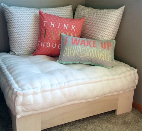 Reading Nook Pillows by Ivory Linen Floor Pillow Reading Nook Cushion With