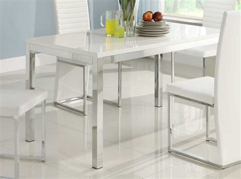 clear dining table