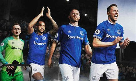 everton kits dream league soccer  dls