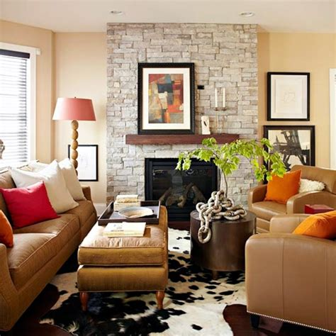 decorating  color decorating ideas inspired  autumn