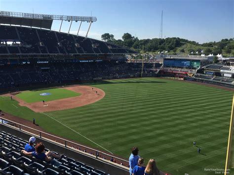 kauffman stadium section 439 rateyourseats