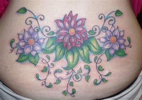 lower back flower tattoos 89 lovely flower tattoos on lower back