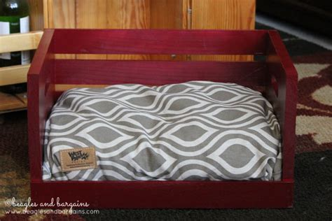 how to crate dogs how to make bed from crate idea for bed