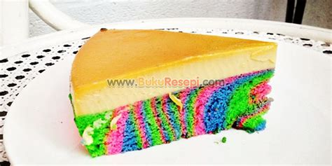 cara membuat cilok pelangi kek puding karamel pelangi bukuresepi com
