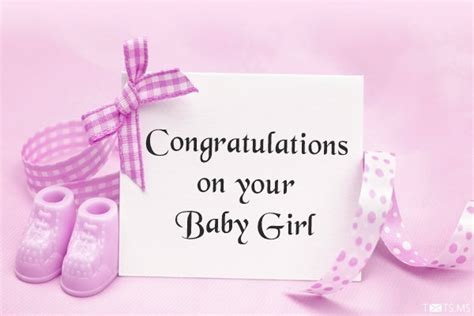 new baby girl greeting card a new ba girl congratulations card free