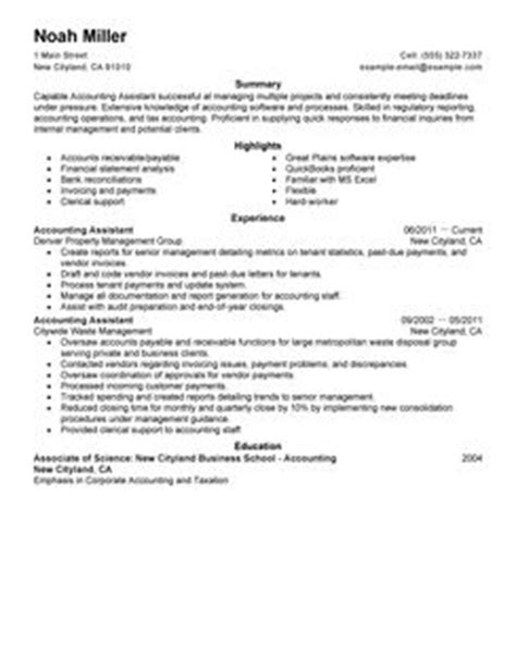 biodata format account assistant best accounting assistant resume exle livecareer