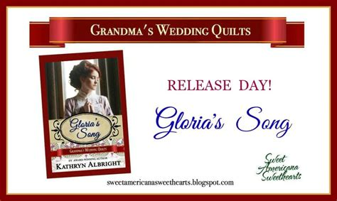 s day releases release day gloria s song kathryn albright