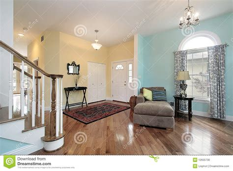 no foyer living room foyer and living room stock photo image 12655730