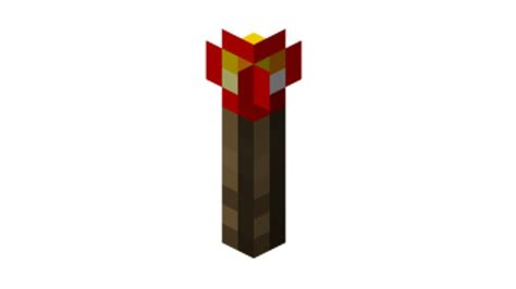 Minecraft Papercraft Torch - minecraft how to craft redstone torches