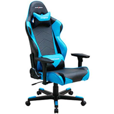Kursi Dxracer dxracer r series pc office gaming chair black blue dxr