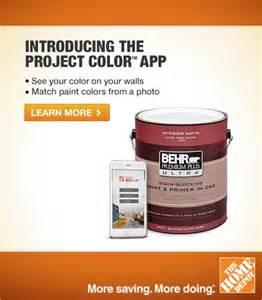 home depot color match app steve harvey show project colortm app by the home depot