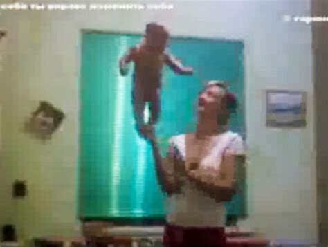 russian baby swinging yoga lena fokina gawker