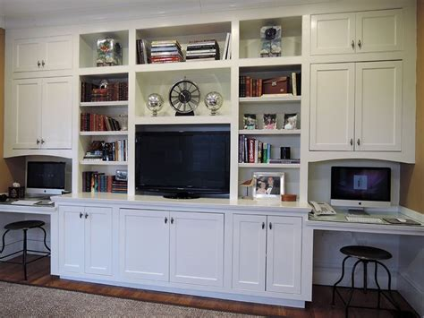 Desk And Entertainment Center by Built In Entertainment Center With Desk Woodworking