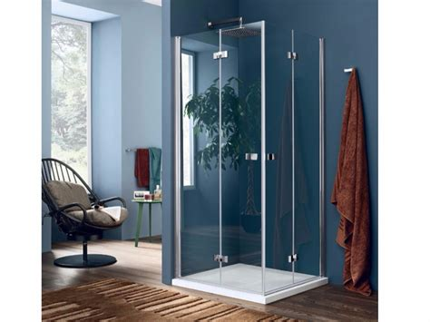 doccia inda box doccia in vetro con porta a soffietto sim 1