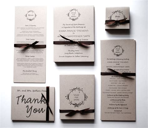 Wedding Invitation Stationery Sets by Stylish Wedding Stationery Sets Wedding Invitations Rsvp