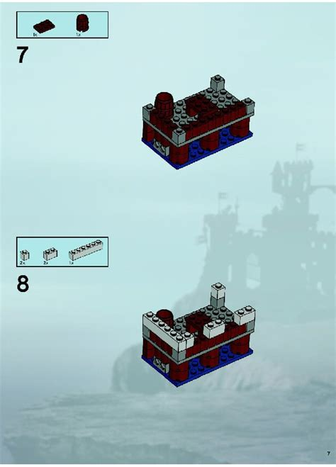 Lego Brick Wange Ship 040330 lego skeleton ship attack 7029 castle