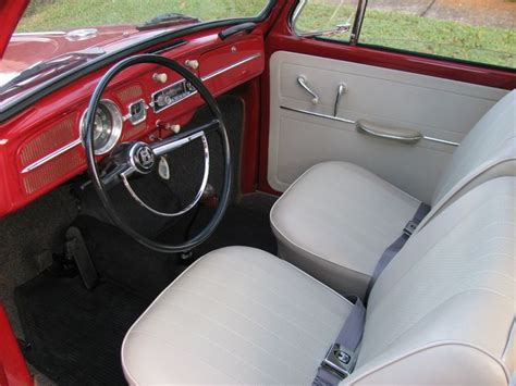 vw beetle upholstery 1966 vw beetle interior the classic vw beetle pinterest