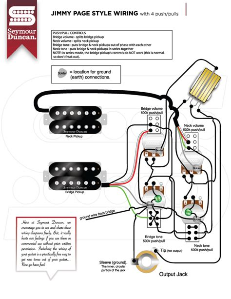 seymour duncan guitar wiring diagrams wiring diagram