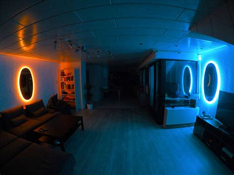 The Portal portal mirrors are the coolest way to decorate your room