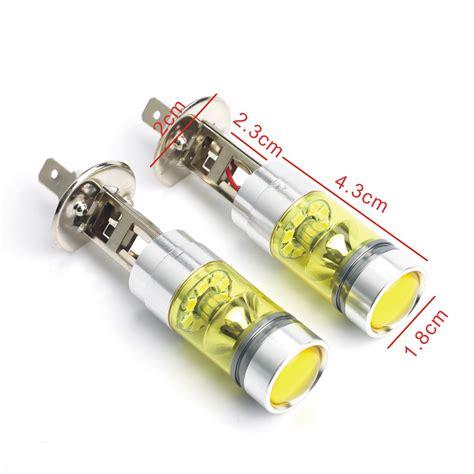 led len hersteller 2 x 80w 4300k yellow led car fog drl turn light