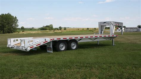 flat bed trailers utility trailers flatbed trailers featherlite trailers