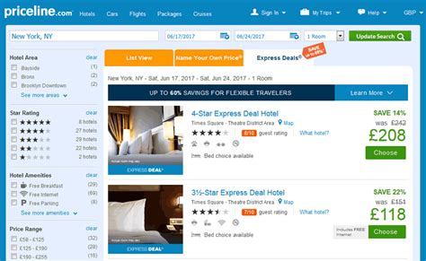priceline promo code 2018 2019 up to 60 express deals