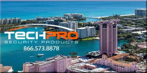 security systems boca raton techpro security products