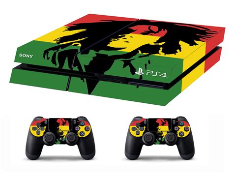 Ps4 Controller Stickers Gamestop by Ps4 Vinyl Skin Stickers Bob Marley Style For Console 2