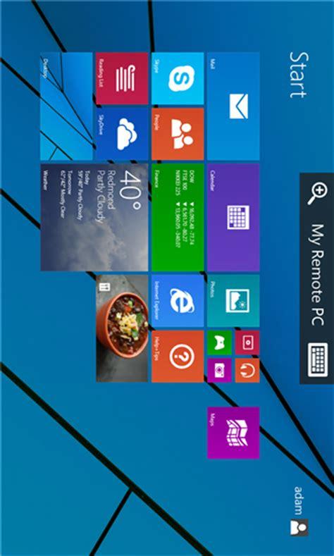 application windowsphone 8 1 microsoft remote desktop