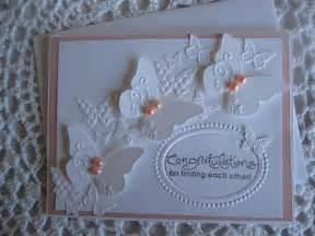 handmade greeting card wedding engagement by conroyscorner