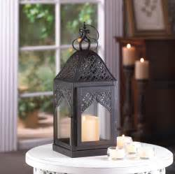 wholesale lanterns for centerpieces wholesale black metal filigree steeple hanging candle