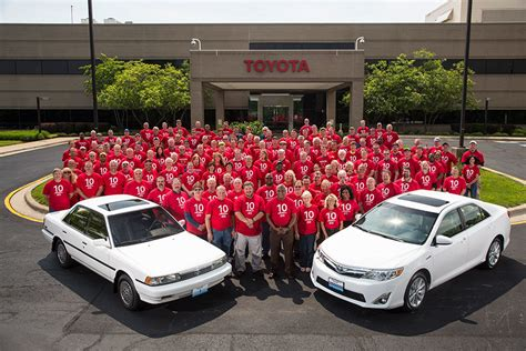 Toyota Plant Georgetown Ky Toyota Kentucky Plant Builds 10 Millionth Vehicle