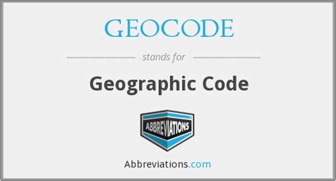 Free Geocode Lookup Geocode Geographic Code
