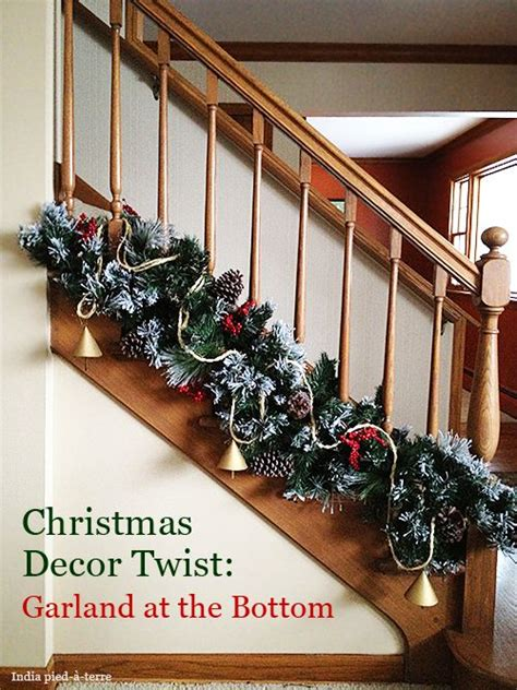 christmas banister garland ideas 70 christmas decorating ideas for a joyful holiday home banisters garlands and wraps
