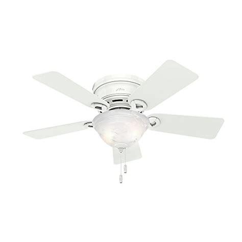 amazon hunter ceiling fans top 5 best selling flush mount ceiling fan without light