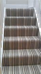 Stairs Striped Carpet by J Hayden Carpets February 2013