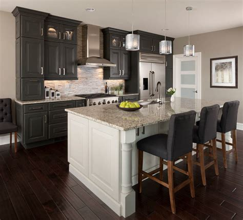 kitchen with black cabinets 42 stunning kitchens with dark cabinets marble buzz