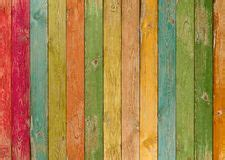 Colorful Wood Planks Texture Or Background
