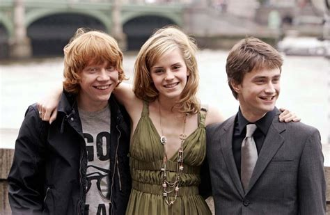 life with hermione harry ron hermione harry ron and hermione photo