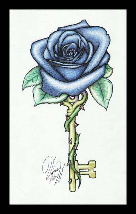 rose and key tattoo 12 best images about roses tattoos on