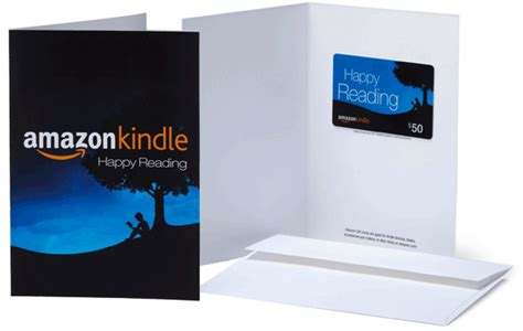 Gift Card For Kindle - kindle gift cards vouchers email print or post kindle gifts