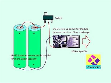 how to make laptop charger work make simple power bank with 18650 batteries