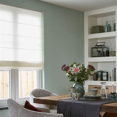 2 vouwgordijnen over elkaar raamdecoratie bij verzijl in nieuw lekkerland home made by