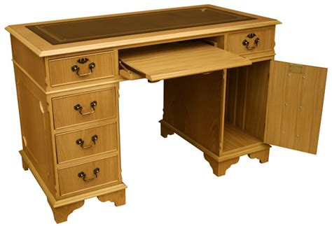 Reproduction Computer Desk Southern Comfort Furniture Pedestal Desks Computer Desks Corner Desks Writing Tables And