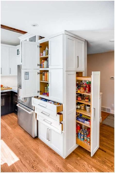 floor to ceiling pantry cabinets with pull out shelving ceilings pantry and floors on pinterest