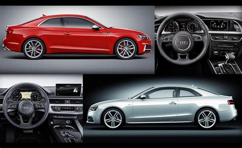 100 hot cars 187 blog archive 187 new vs old audi a5 coupe