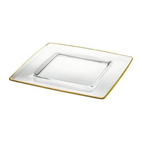 square charger plates square glass charger plate gold band catering