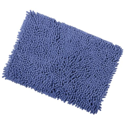 Shaggy Bathroom Rugs Shaggy Microfibre Bathroom Shower Bath Mat Rug Non Slip Backing 12 Colours