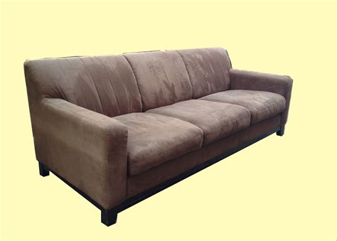 swade sofa brown suede sofa smileydot us